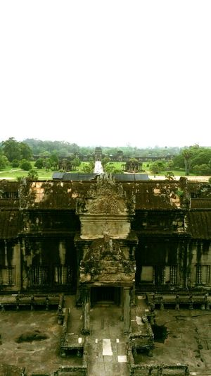 On top of the temple Cambodia Temple Forbidden Places Risky Shot Beautiful Ancient Ruins Quiet Places