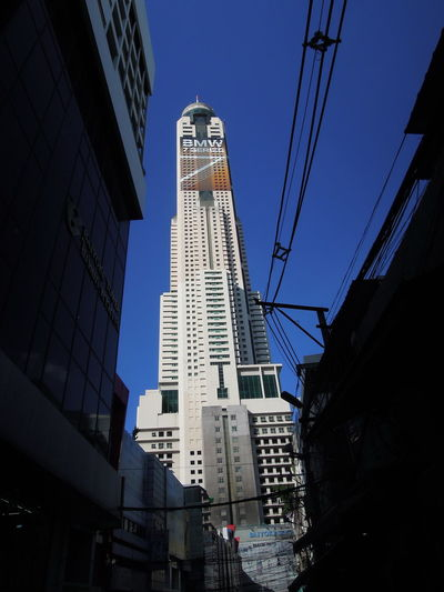 building tower in bangkok Architecture Baiyoke Baiyoke Sky Baiyoke Sky Hotel Baiyoke Tower Baiyoke Tower II Baiyoketower Bangkok Blue Sky Bluesky Building Building Exterior City Clear Sky Day High High Building High Tower Metropolis Outdoors Sky Tower