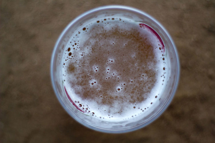 Glass of beer top view Beer Beverage Bubbles Celebration Refreshment Alcohol Alcoholic Drink Bar Beer - Alcohol Beer Time Directly Above Drink Drinking Glass Food And Drink Freshness High Angle View Party Pint Of Beer Refreshment Still Life Table Top View