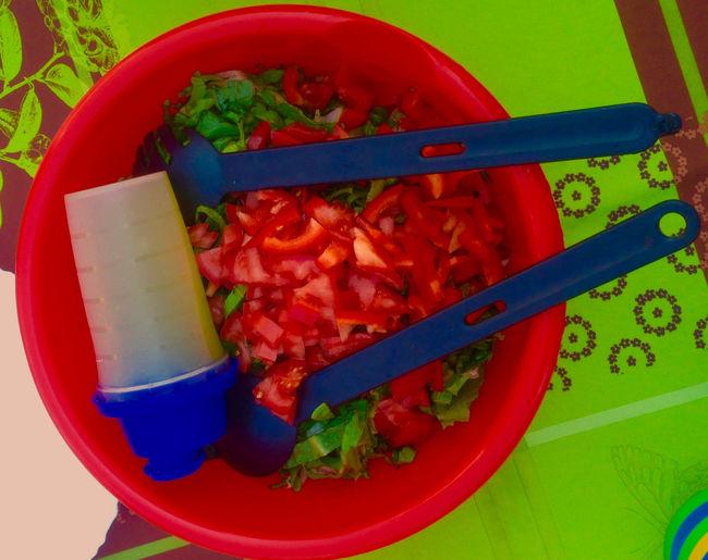 Food Porn Awards Fresh summer Tomato Salat Salat