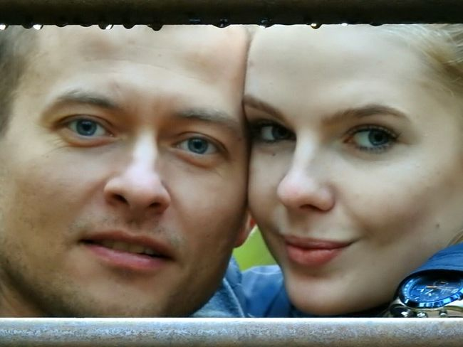 Happy Family! ❤ Brother & Wife Two People Portrait Looking At Camera Family People Togetherness Day Real People Sankt-Petersburg Russia