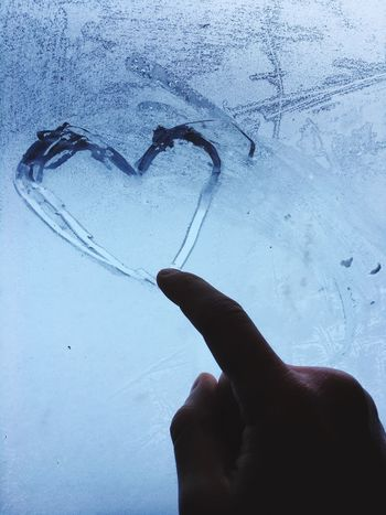 Human Hand Heart Shape Real People Creativity Human Finger Love Lifestyles Human Body Part Drawn Drawing - Activity One Person Indoors  Winter Snow Day Cold Temperature Close-up