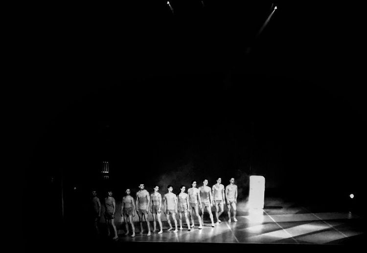 we're machine Fridge Clones Personality  Same  Together Stagephotography Stage - Performance Space People Perfomance Dance Blackandwhite