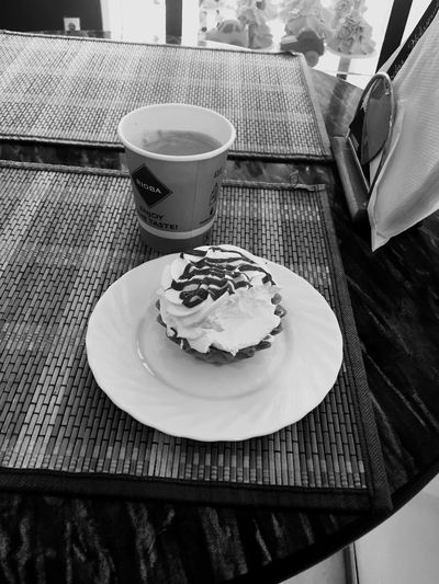 Like IT Cake♥ Hello World Lovely Cream Yummi Coffee Time
