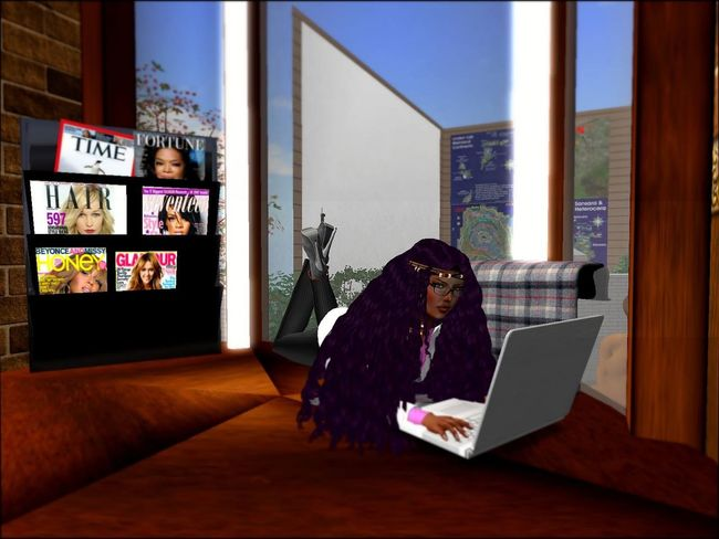 Home Office Modern Workplace Culture Secondlife