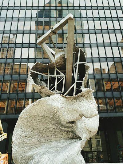 Deconstruction Of Public Art On Park Avenue Nyc