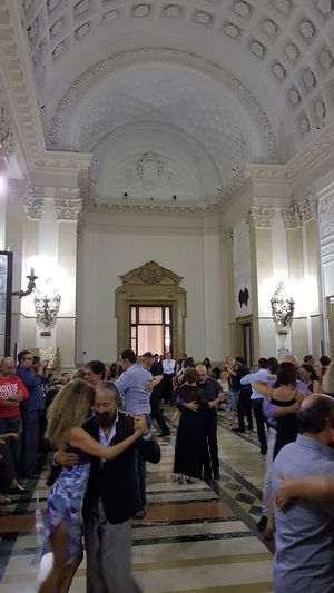 Large Group Of People Indoors  Lifestyles Person Leisure Activity Illuminated Standing Crowd Travel Destinations Tourism Famous Place Place Of Worship Culture Worship Arch Turin Malephotographerofthemonth Exceptional Photographs Tango