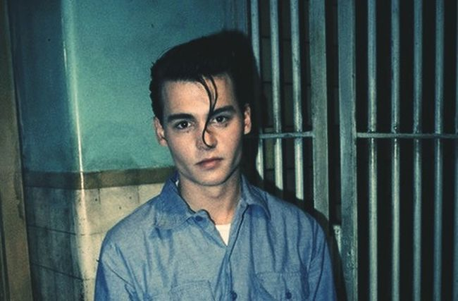 Young Johnny Depp Style Looks Good He ??