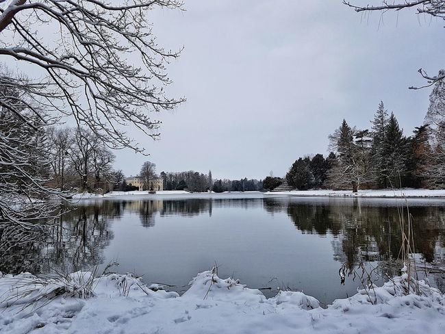 Cold Temperature Shades of Winter Reflection Lake Water No People Nature Outdoors Sky Day