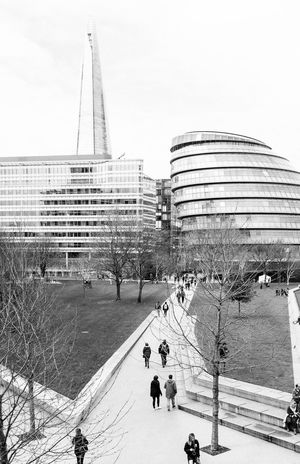 To the City hall Architecture Built Structure City City Life Day Development Fujifilm_xseries Leisure Activity Lifestyles Modern Outdoors Showcase May Sky Tall - High Tourism Travel Destinations