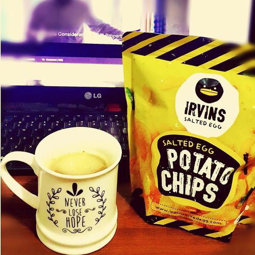 Never lose hope on anything! It's never been easy ... just Pray ✌💪🙏 Pray Irvins Salted Potato Chips Simple Things In Life Love Eating