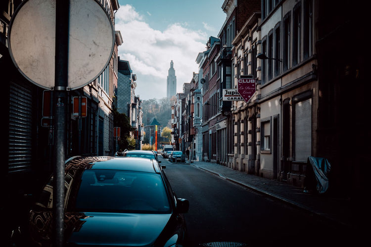 Belgium Architecture Building Exterior Built Structure Car City Day Land Vehicle No People Outdoors Road Sky Streetphotography Transportation