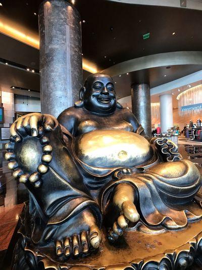 No People Statue Sculpture Architecture Day Aria Resort & Casino.