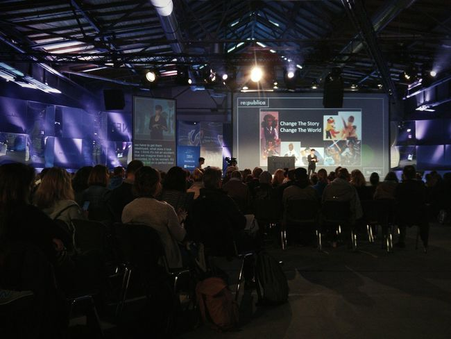Laurie Penny @ RpTEN Documentary Taking Photos Re:publica Documentary Photography Documentaryphotography Rp16 Republica16