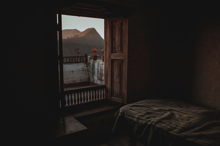 Indoors  Home Interior No People Architecture Old Room  Bandipur Terrace Bedroom Window Bedroom Bed Interior Views Interior Design Interior Traveling Travel Travel Destinations Nepal Asian Culture ASIA Hotel Room Mountains Himalaya Himalayas The Secret Spaces