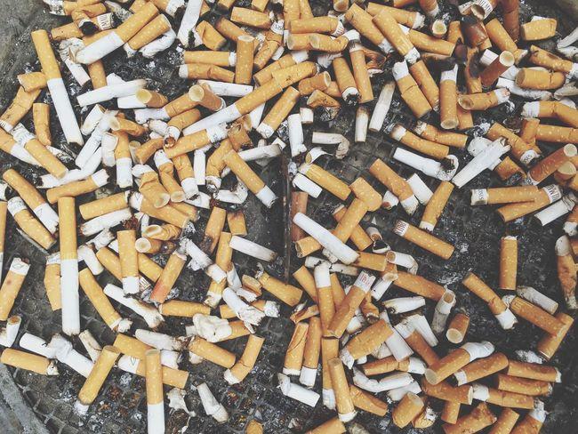 Cigarette  Trash Ashtray