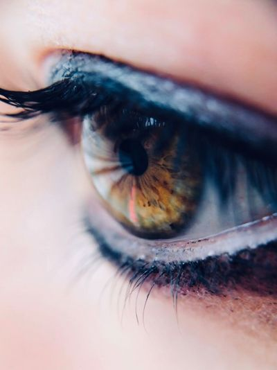 Eye Human Eye Eyesight Eyelash Sensory Perception Body Part Human Body Part Close-up One Person Eyeball Iris - Eye Extreme Close-up Women Macro Beautiful Woman Make-up Adult Beauty Looking Human Face Capture Tomorrow