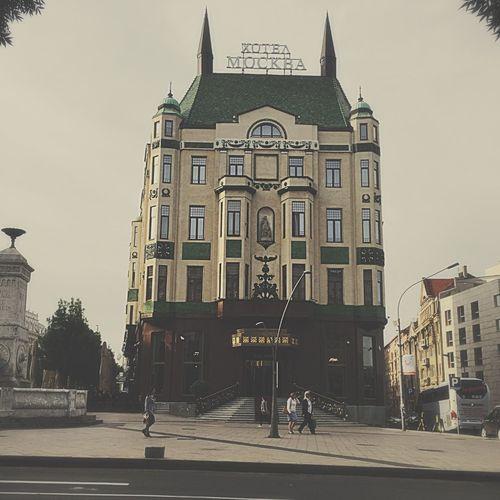 Hotel Moskva Belgrade Serbia #belgrade #serbia