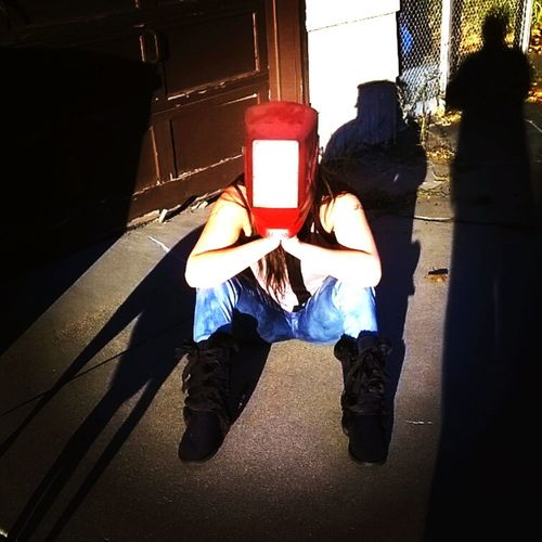 this is how I watched the solar eclipse in 2015. I threw on my welding mask and it was an unforgettable moment. Solar Eclipse Solar Eclipse 2015 Enjoying Life Sun Moon Shadows & Lights Shadow Minnesota Minneapolis Welding Weldporn Nature Universe