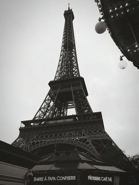 Paris Je T Aime Torre Eiffel Beautiful World Scattirubati Monochrome