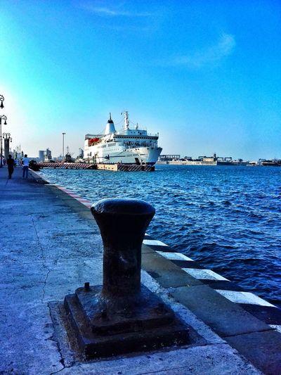 Vessel Veracruz Harbor Streetphotography Logos Hope Veracruz, México Sailing Ship Water Nautical Vessel Harbor Sea