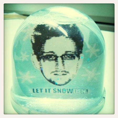 Noch etwas Snowdenart zum Mittag.
