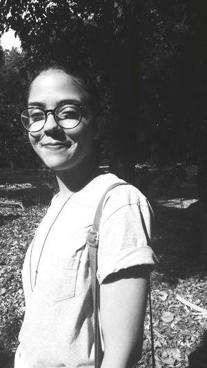 Young Women Portrait Eyeglasses  Close-up