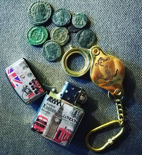 Rome London Coins Coin Fire Colors Still Life Indoors  No People High Angle View Fashion Close-up Day first eyeem photo