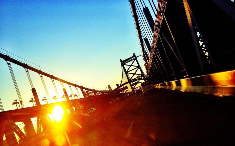 Sunset Architecture View Don't Jump EyeEmBestPics Bridge Eye4photography  EyeEm Best Shots Sun