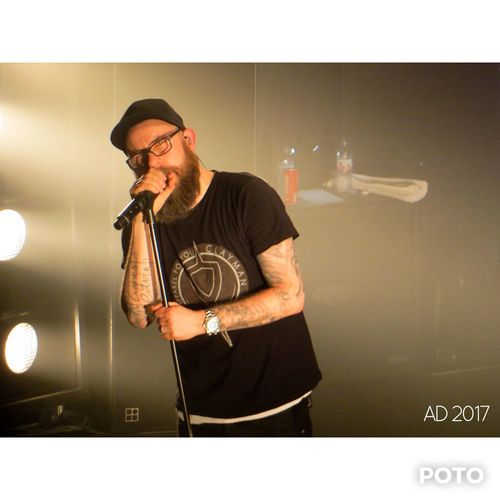 In Flames - Alhambra, Paris 2017 Alhambra Singer  Paris Band In Flames Show Concert Music One Person Beard Glasses Eyeglasses  Adult Men