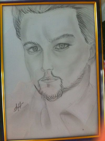 Mr. Leo Art ArtWork Portraits Leo Leonardodicaprio  Blackandwhite Black & White