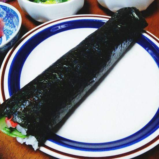 恵方巻き 節分 Sushi Sushi Rolls Enjoying A Meal Enjoying Life 今年の恵方は南南東!