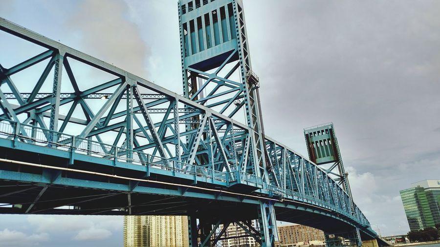 Bridge In Jax. Fl Taking Photos Clouds And Sky