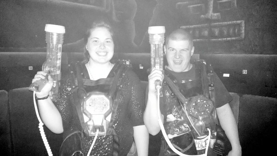 laser tag with my loveeee