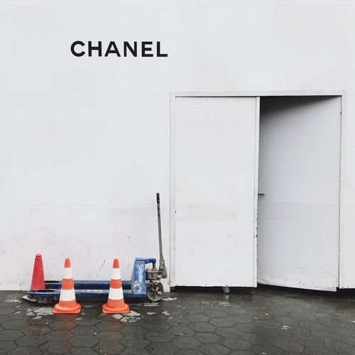 Chanel Construction Inequality 1% Barcelona Shopping