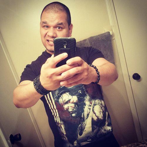 Selfie ✌ Wolverine Puertorican Columbian