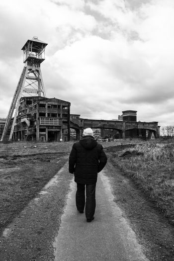 Coal Mine Coal Mining History Coalmine Mine Old Man Old Man Walking Old Memories Walking Walking Alone... Walking Around