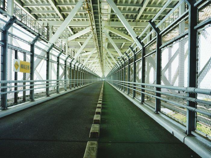 Road Bridge In City