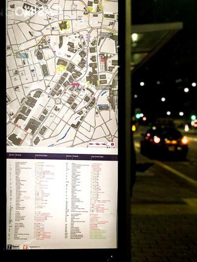 Bus Metro Map