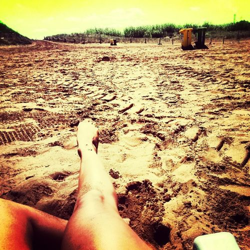 Beach Hanging Out Taking Photos My Legs #summer