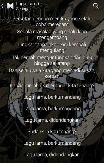 Lagu lama dulu malam ini ✋ Seringai Lagu Lama INDONESIA Band Bandung