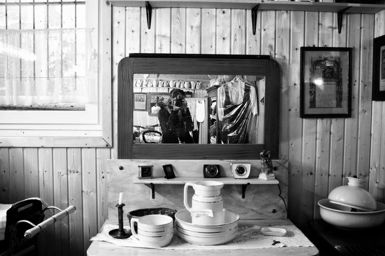 Taking Photos Visiting Museum Old Stuff Retrostyle Mirrorselfie Through The Mirror Mirror Reflection Dirty Mirror Black And White Collection  EyeEm Black&white!