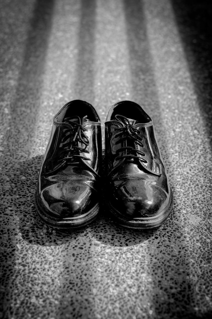 shoe, pair, two objects, indoors, no people, close-up, day
