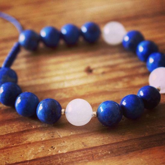 New Lapis Wrist Mala! Jewelry Bracelet Buddhist Buddhism