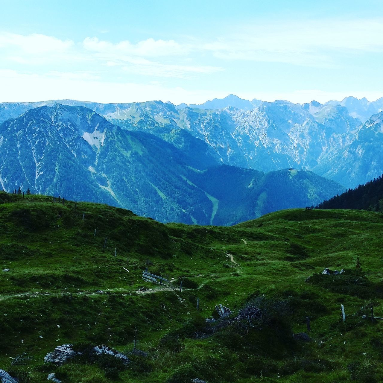 mountain, nature, sky, beauty in nature, tranquil scene, scenics, tranquility, no people, landscape, mountain range, outdoors, day, grass