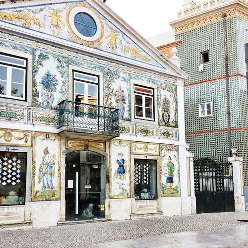 Lisbon Facades Façade Tiles Of Lisbon Streets Of Lisbon
