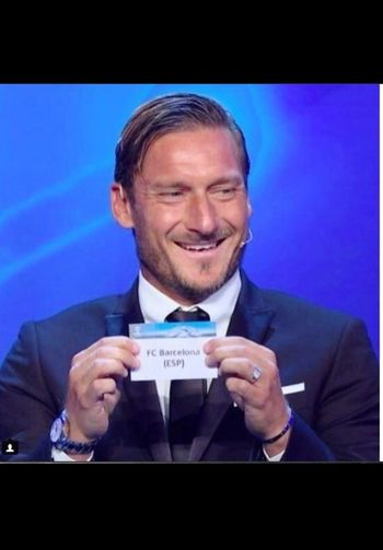 Forza Roma Asroma Francesco Totti Championsleague Football Player Italia Businessman Business Well-dressed Business Person Men Suit Business Finance And Industry