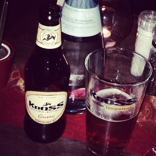 Danke an alle faulen #iblo0711-Blogger! #prost Cheers Stuttgart Bier Chile Kross Prost Iblo0711 Ironblogger Iblog0711 Tierradelfuego Goldenale