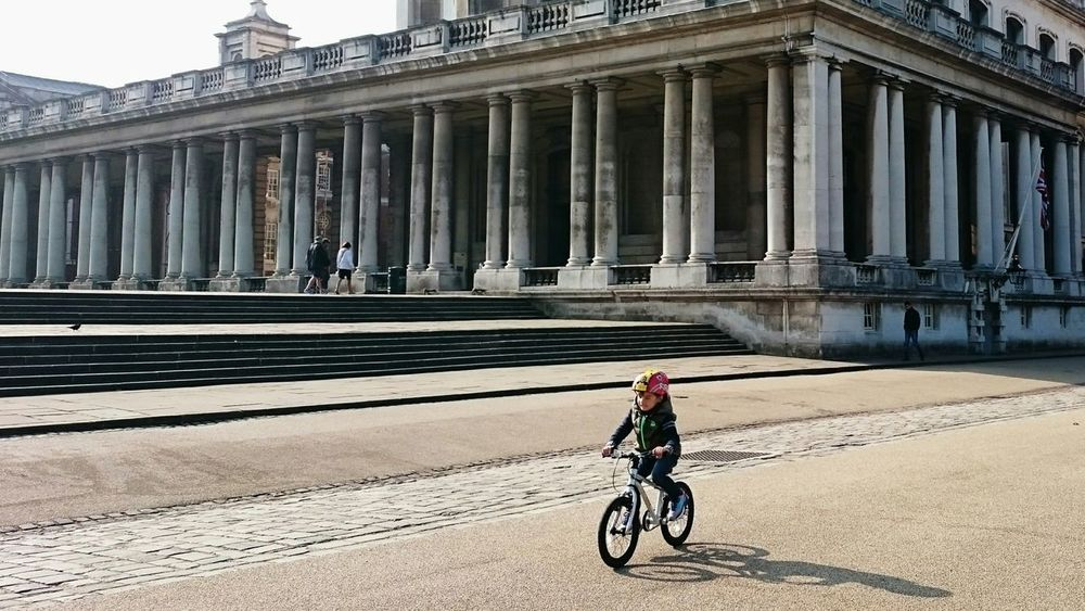 Sport In The City Sports Cycling Kids Peoplephotography Relaxing Architecture Urban Photography Urban Geometry Amazing Architecture Historical Building Greenwich Park Greenwich London Uk