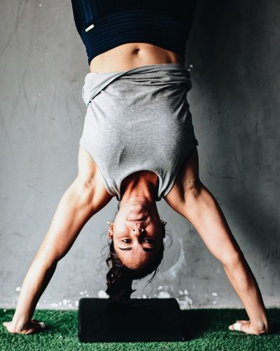 Crossfit Crossfitgirl  Girl Hspu Handstand  Push-ups International Women's Day 2019 Stay Out